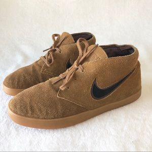 Nike Mens Shoes 8.5 Suede Leather Sneakers Vintage